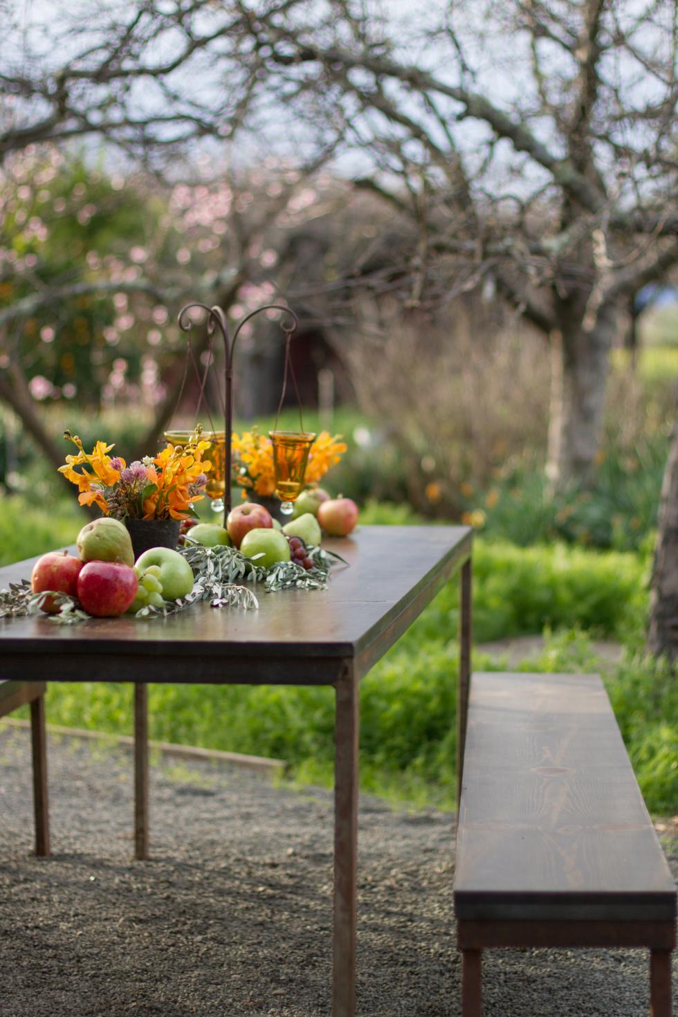 Bright Event Rentals Mendocino Farm Table Mendocino Farm