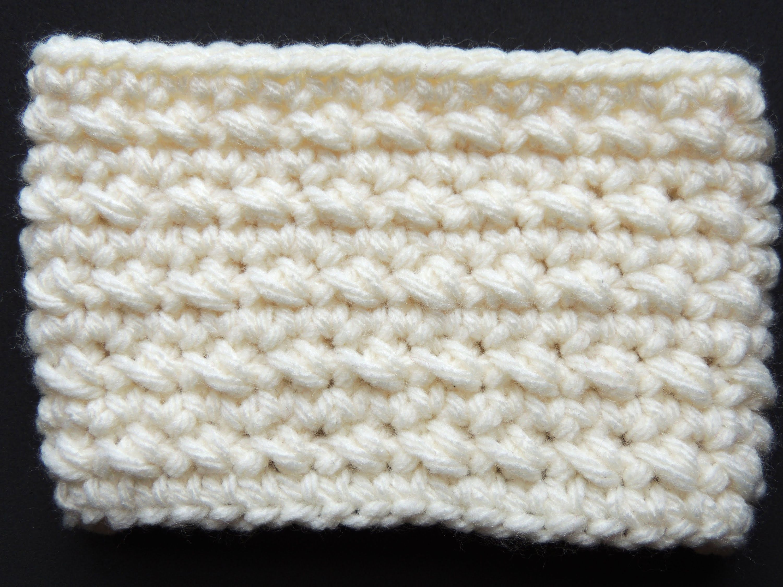 Crochet : Punto Bajo Diagonal en redondo | maria antonia | Pinterest ...