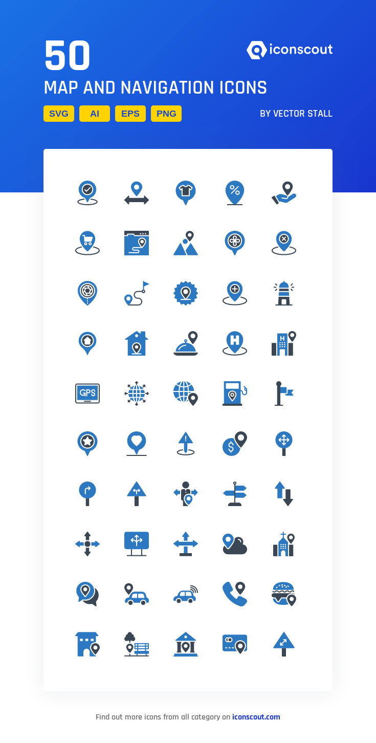 Download Map And Navigation Icon Pack Available In Svg Png Eps Ai Icon Fonts Icon Pack Icon Navigation