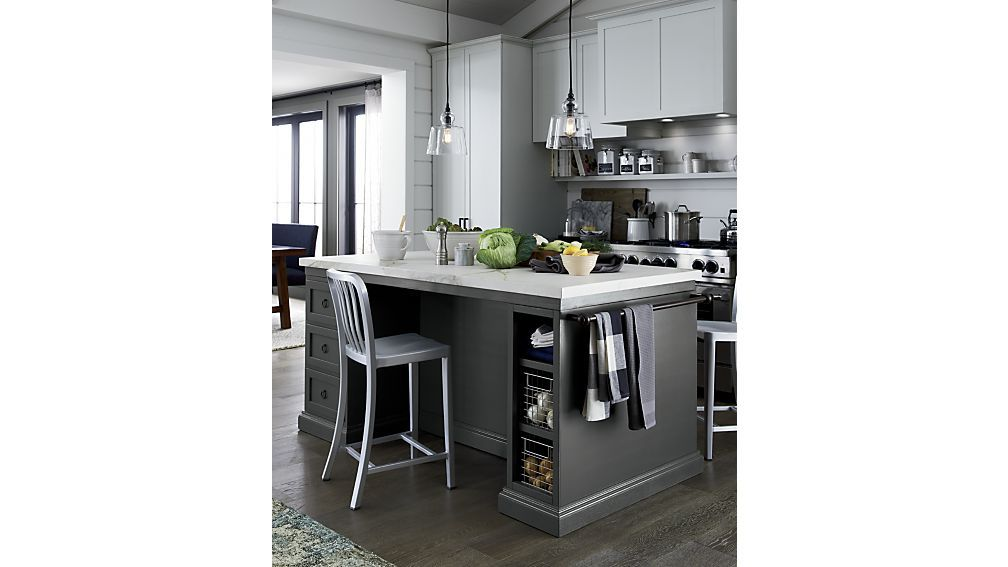 Cameo 72 Large Kitchen Island Crate And Barrel Home