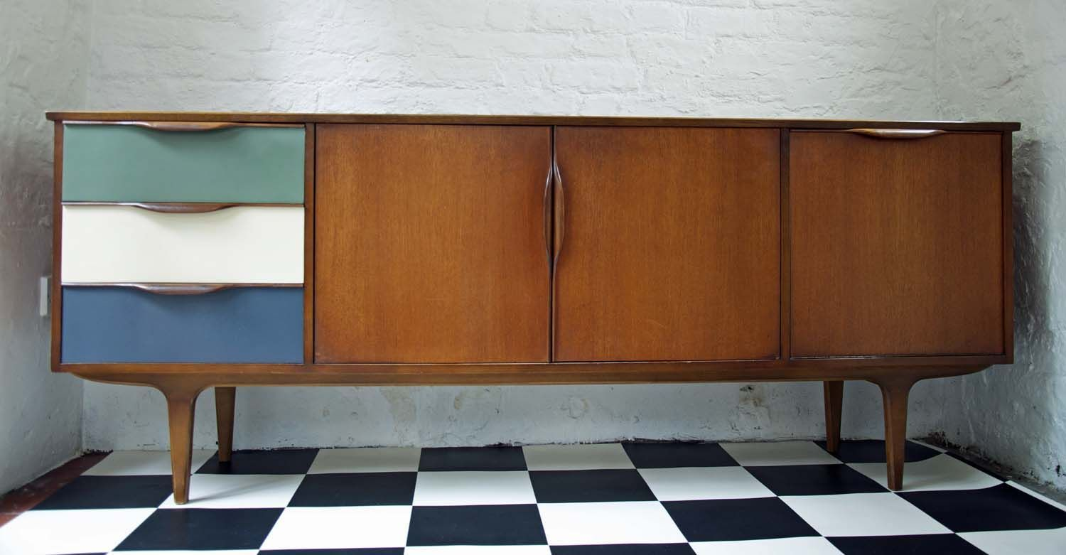 60's Upcycled G Plan Sideboard Bring It On Home For the Home Pinterest 60 s