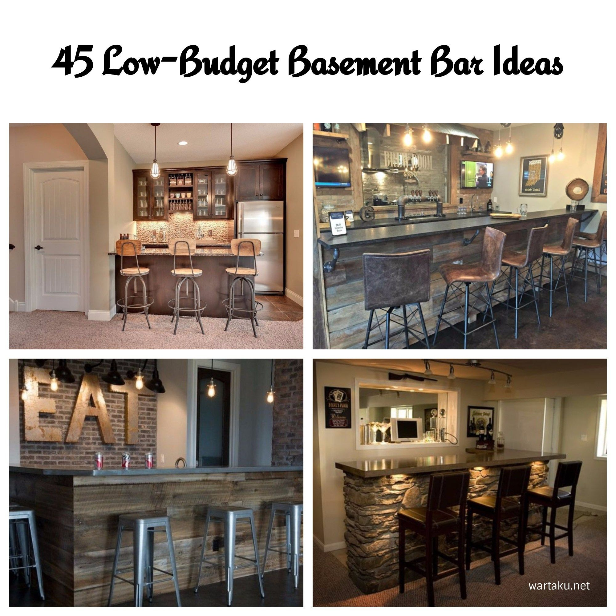 45 low budget basement bar ideas basements budgeting and bar