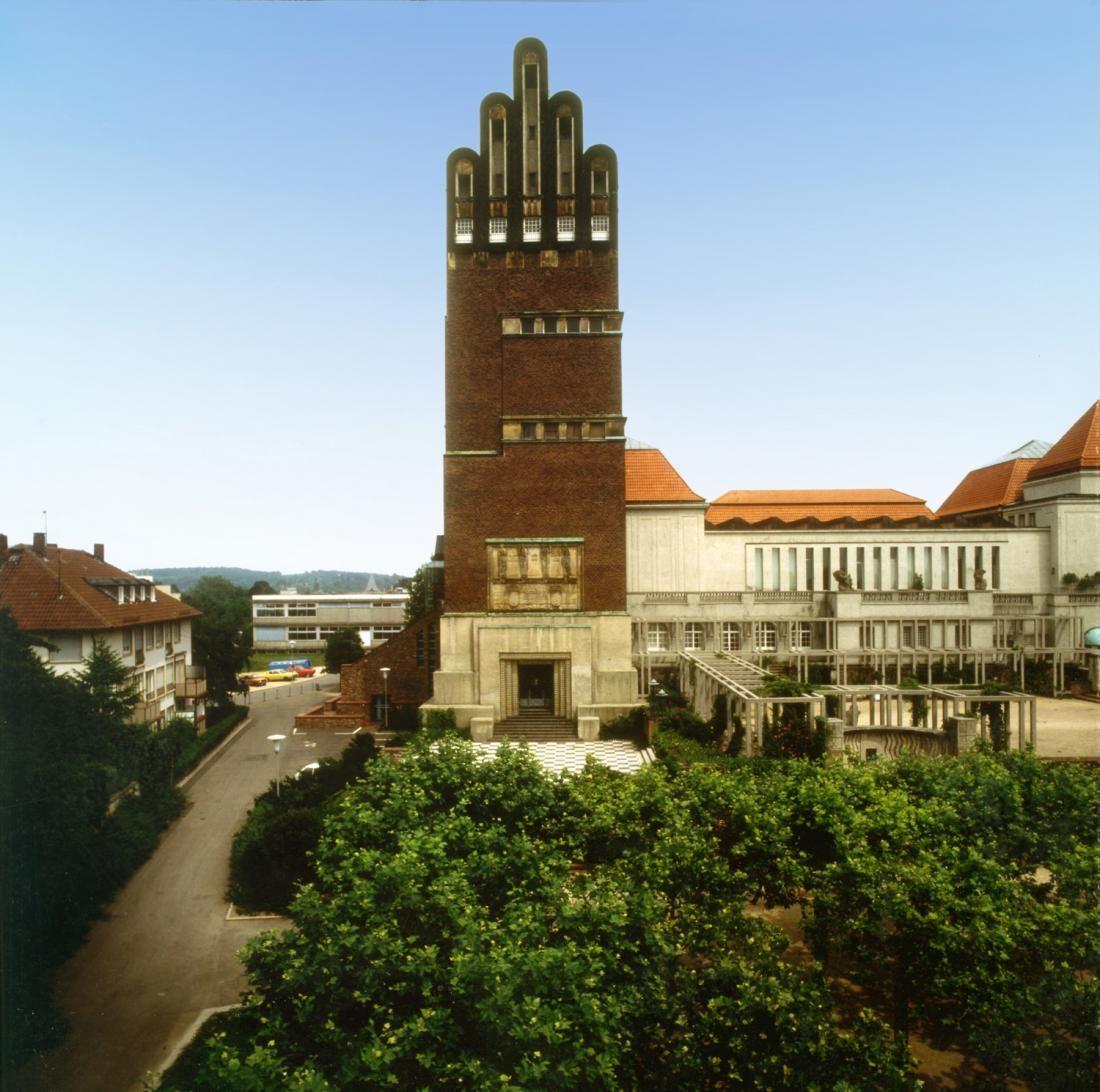 Joseph Maria Olbrich 1905 1908 Wedding Tower Hochzeitsturm Darmstadt Art Nouveau Tower Darmstadt