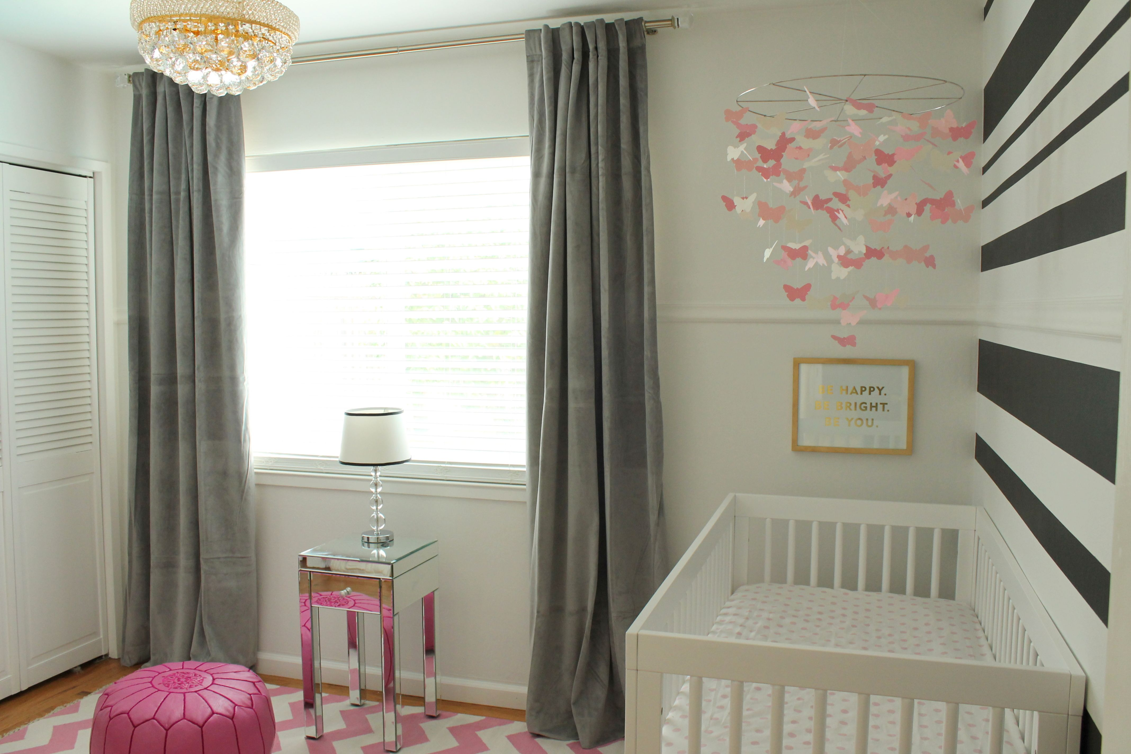 Unique butterfly Baby Nursery