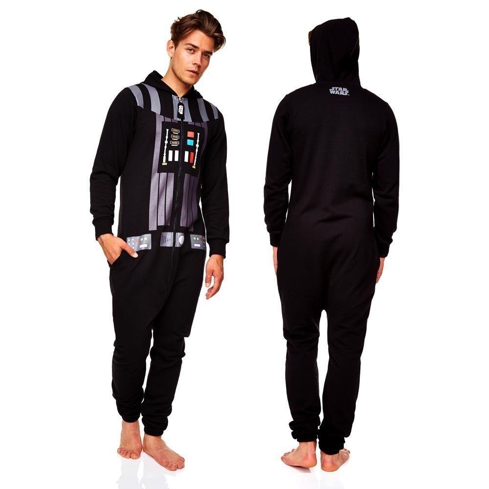 ad0402ee2eb Darth Vader Onesie   Star Wars Jumpsuit (mens vadar onsie onesy ...