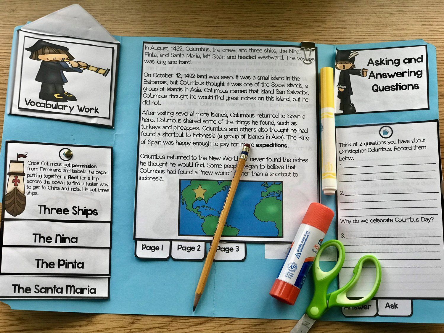 How To Create A Columbus Day Activity For Kids