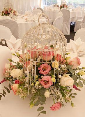 Life Is What You Bake It Wedding Centerpieces Flower Arrangements