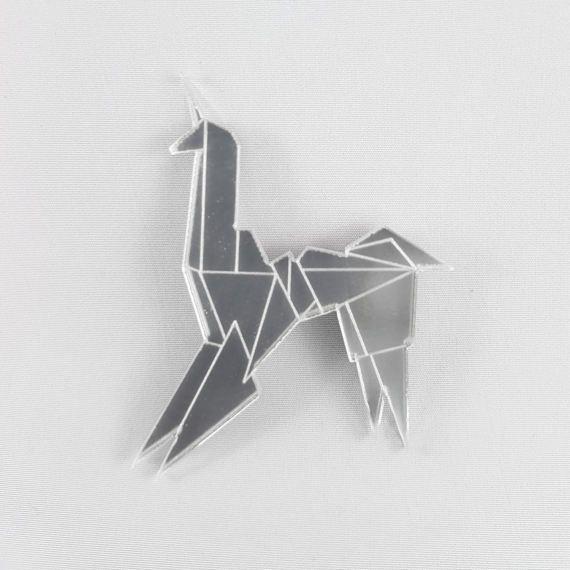 Blade Runner Origami Unicorn Pin: Pin On FoldIT Origami Jewelry
