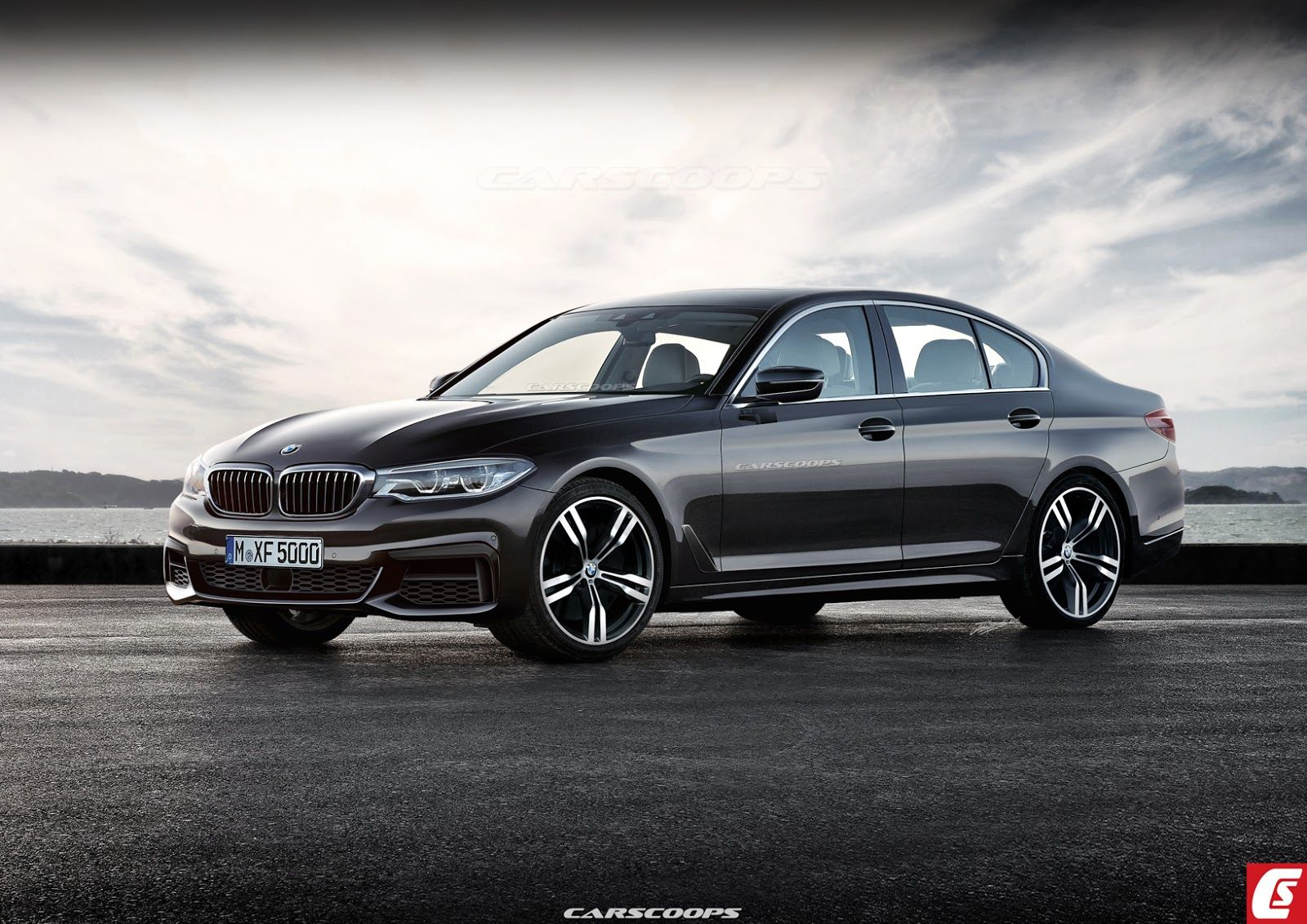Rendering Shows A Realistic View Of The New 2017 Bmw 5 Series Http
