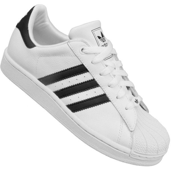 Adidas Superstar 2K Sneaker G04532 (White Black) ( 62) ❤ liked on Polyvore  featuring shoes 6d92e63c71