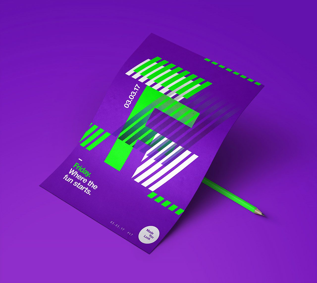 Made You Look Poster Collection By Studio Jq