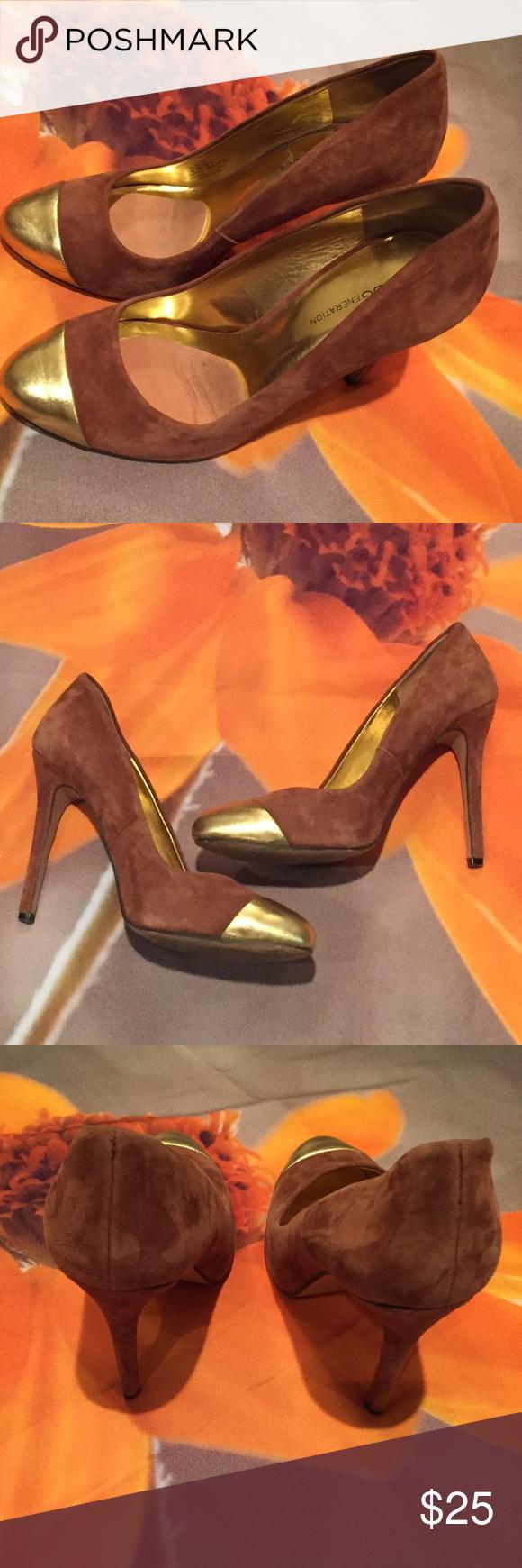 BCBG Generation Heels Excellent Condition 4 inch heels BCBGeneration Shoes Heels