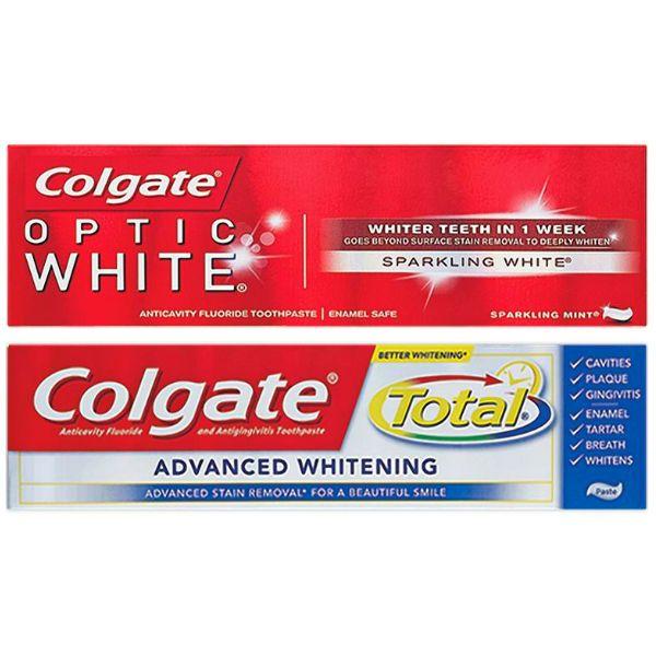 Valido 11 5 17 Solamente 2 Colgate Optic White O Total Advanced