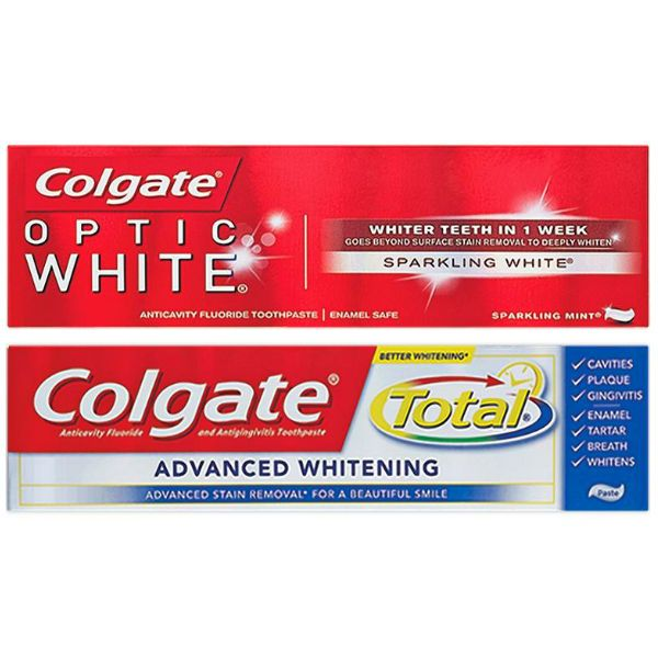 Valido 11 5 17 Solamente 2 Colgate Optic White O Total Advanced