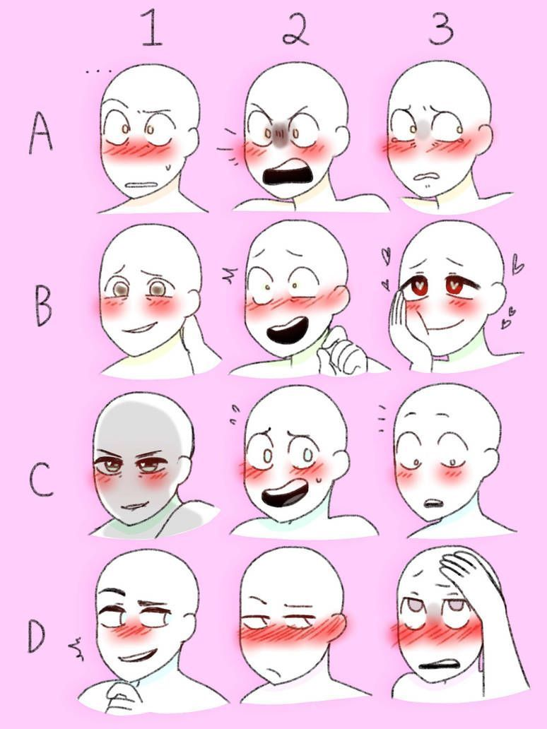 Meme Expressions Meme Expressions Drawing Expressions Drawings Anime Drawings Tutorials