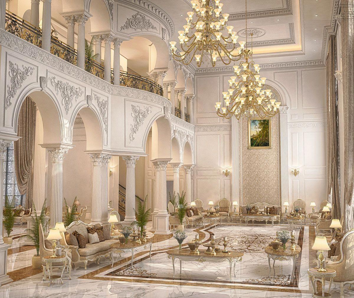 Luxury Mansion Interior Qatar On Behance: Enhance Your Senses With Luxury Home Decor