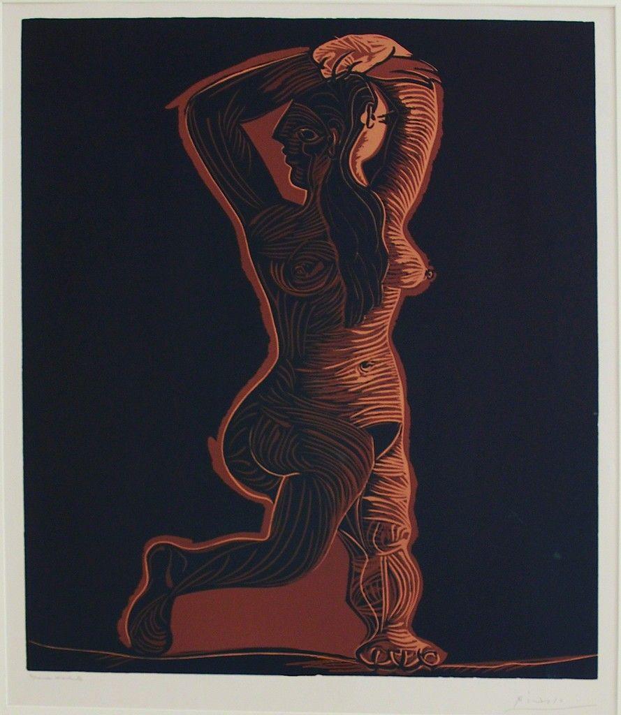 Grand nu de femme | Pablo Picasso, Grand nu de femme (1962)