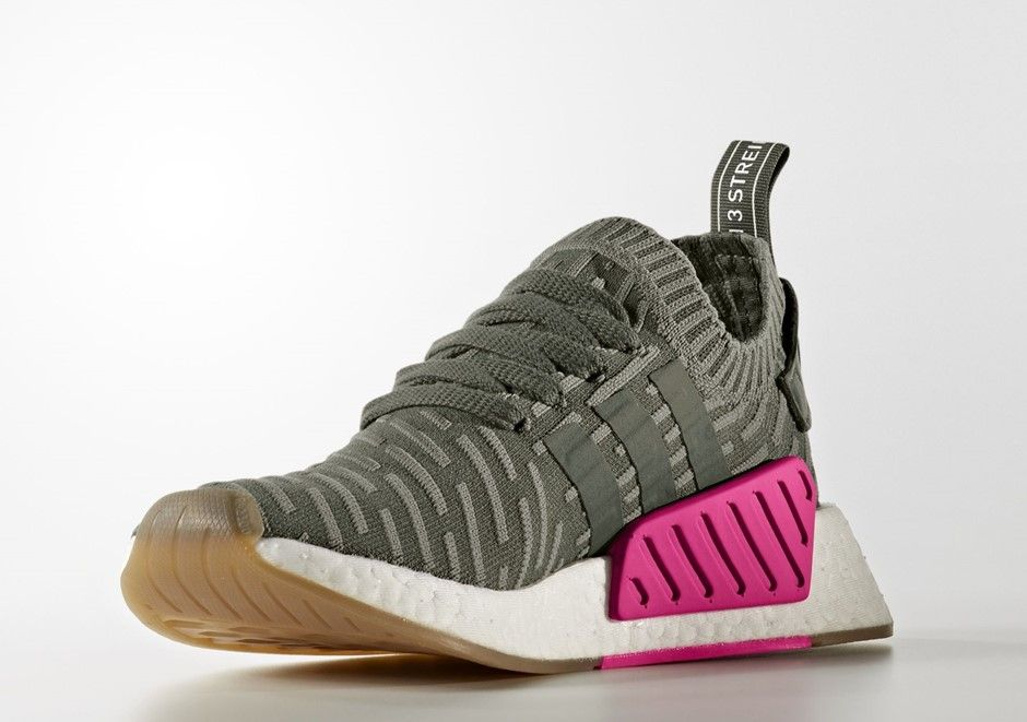 0241b2aad597b adidas NMD R2 Japan Pack Green Pink