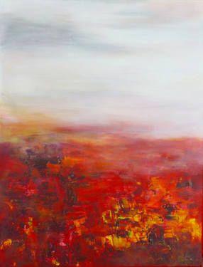 "Saatchi Art Artist Angela Lindenlauf; Painting, ""ARREBOL"" #art"