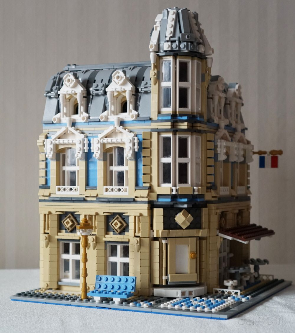 Lego Moc Moc 11989 10214 Tower Bridge Alternative Build Building
