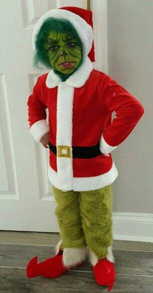grinch costume custom made - Baby Grinch Halloween Costume