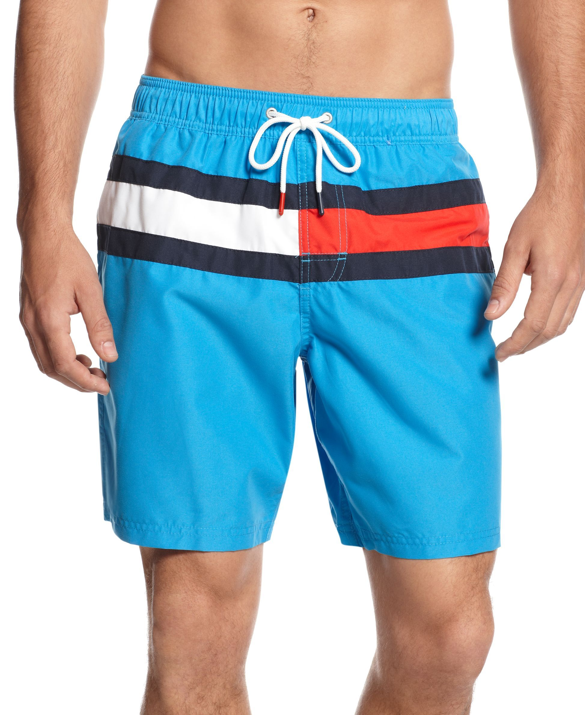 5dbdad5e4d474 Tommy Hilfiger Flag It Swim Trunks | Cool stuff 51 in 2019 | Swim ...