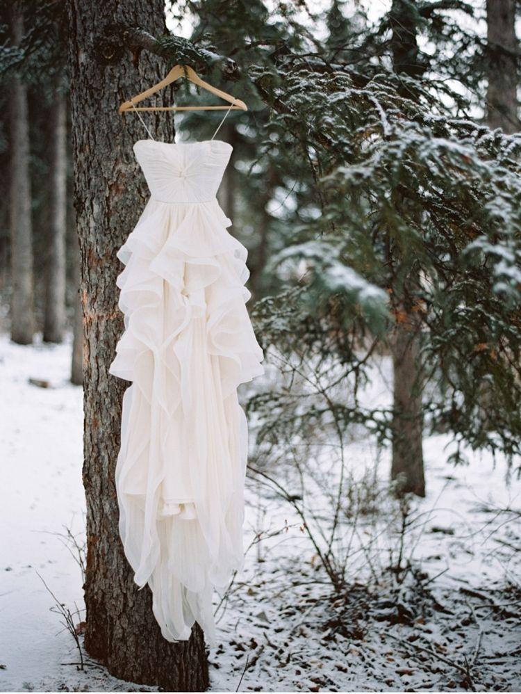 Snowy Winter Wedding in the Canadian Rockies | Winter ...