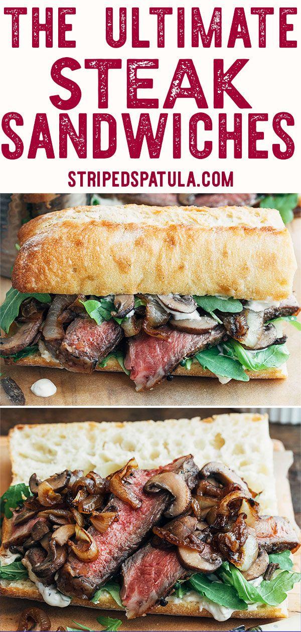 Photo of Steak Sandwich Recipe with Horseradish Mayo