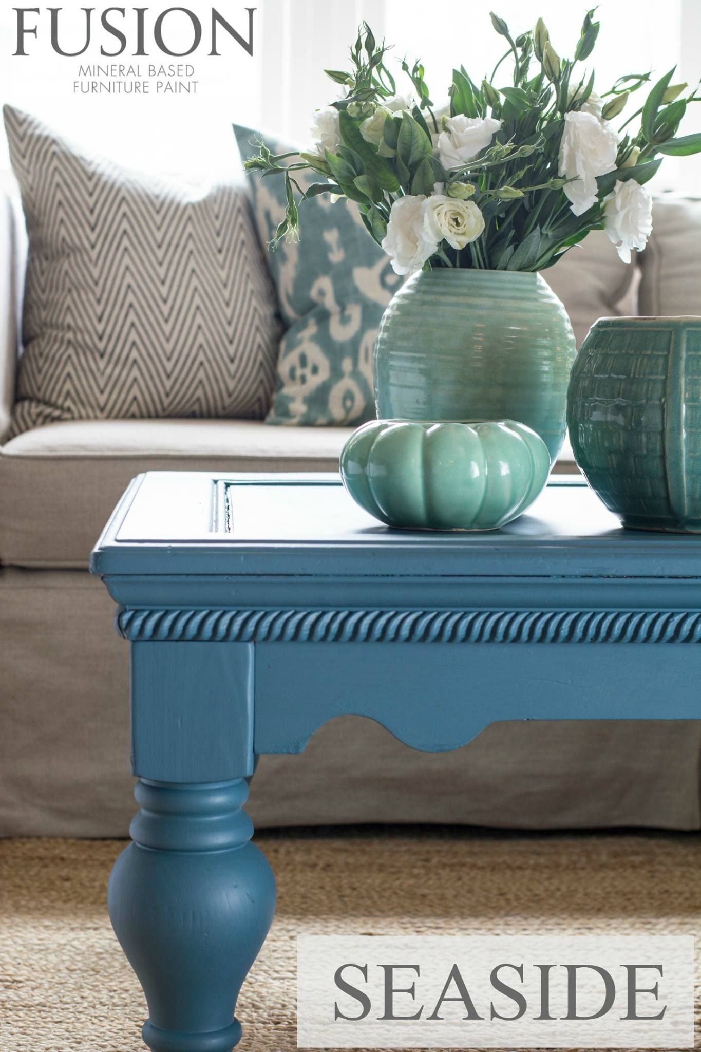 Seaside Is The Perfect Deep Coastal Blue From The Michael Penney Collection.