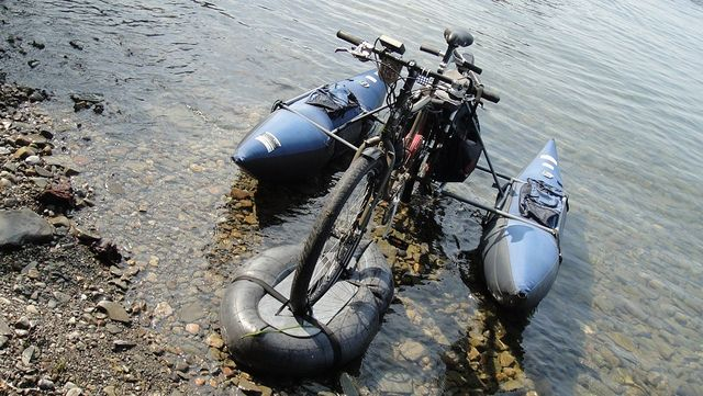 Aqua Xtracycle Amphibious Bike By Larry Clarkberg Via Flickr