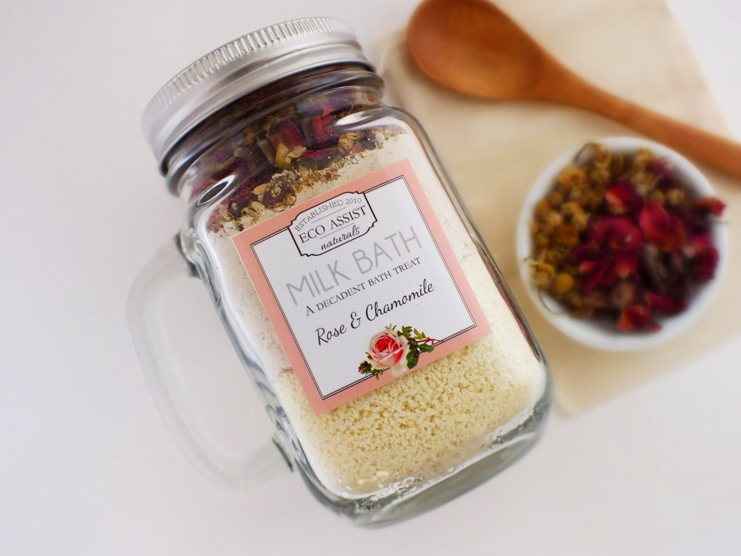 Milk bath organic valentines day gifts for her mothers day