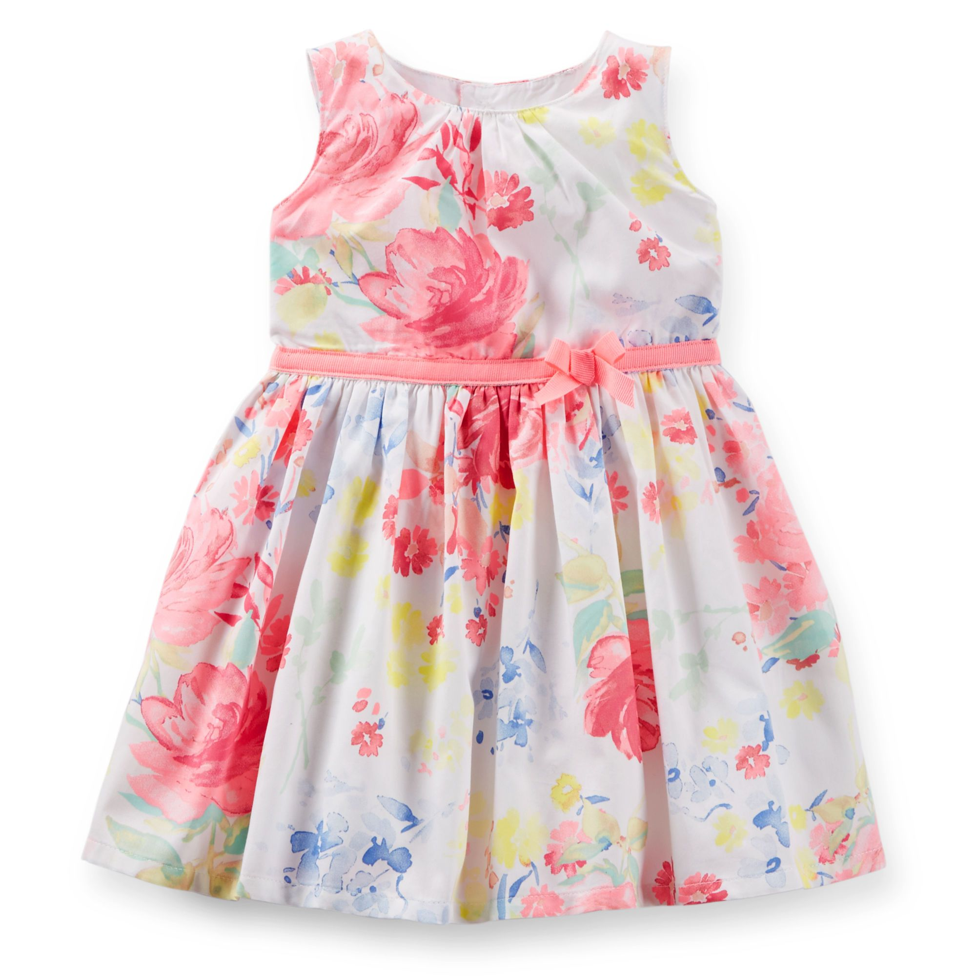 Carters Little Collections Easter Outfit Baby//Toddler Girl Pink//White Skirted
