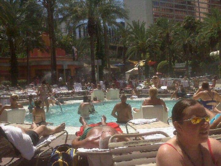 Pool @Flamingo, las Vegas