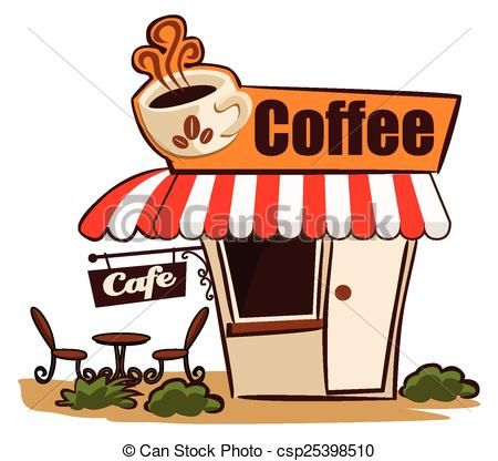 Coffee Shop Illustrations And Stock Art 22323