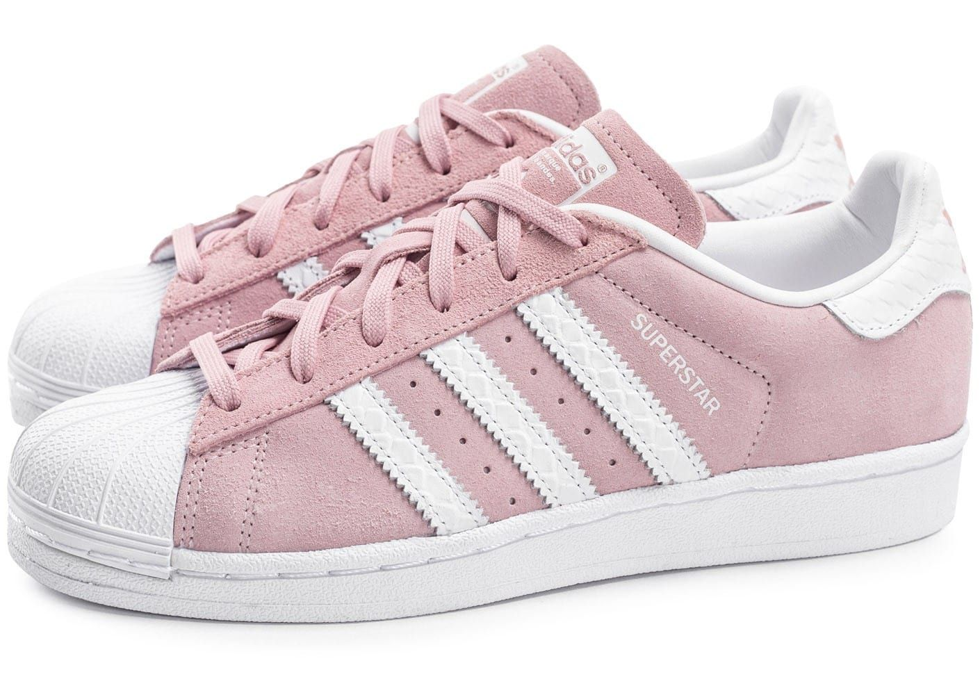 chaussures adidas superstar suede rose p le vue ext rieure idee mode pinterest adidas. Black Bedroom Furniture Sets. Home Design Ideas