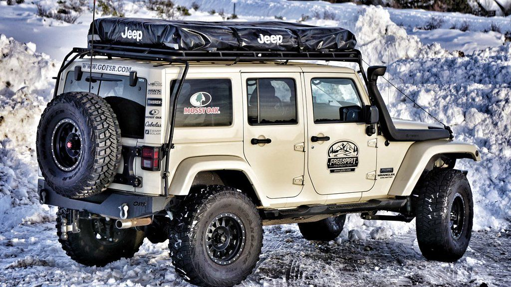 Freespirit Recreation Adventure Series M55 Jeep Edition Roof Top Tent & Freespirit Recreation: Adventure Series M55 Jeep Edition Roof Top ...