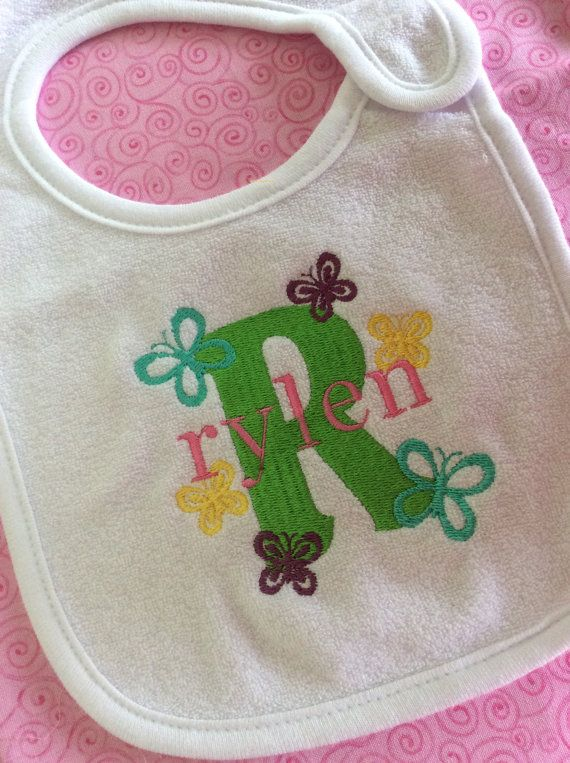 Hey, I found this really awesome Etsy listing at https://www.etsy.com/listing/462523641/baby-bib-personalized-monogram-with