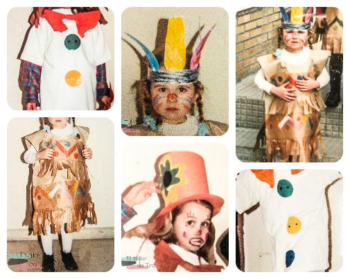 El taller de Ire: Disfraces para niños hechos por ellos mismos
