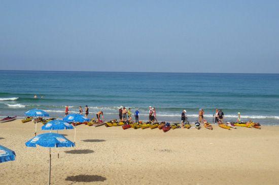 Dado Beach is named in memory of David (Dado) Elazar who was