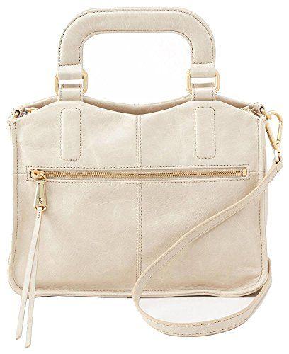 Hobo Handbags Vintage Leather Adley Crossbody Bag Linen
