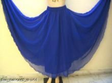 Belly Dance Skirts are so long. It's made by georgette shartin material Skirts have a short lining at the top we have carefully selected the best quality fabric for you.OUR PRICE:£17.99