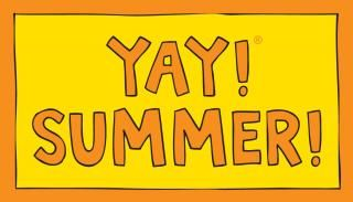 YAY! SUMMER! magnet. Celebrate what you love.