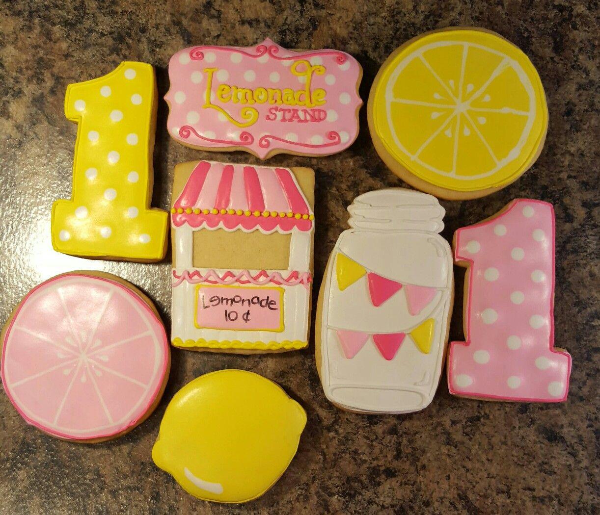 Lemonade stand cookies