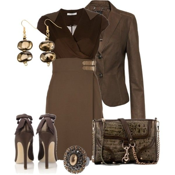 """""""GIVENCHY Buckle waist dress"""" by aannggiiee on Polyvore"""