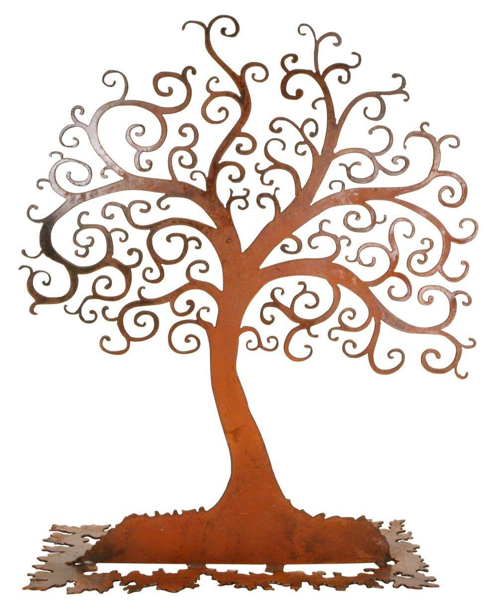 Vintage Tree of Life Sculpture (USA) | Baum, Kunst und Bilder