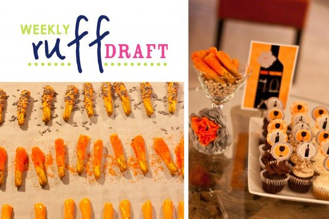 Ruff Draft: Wine and Cupcake Tasting Party Plus Easy Desserts