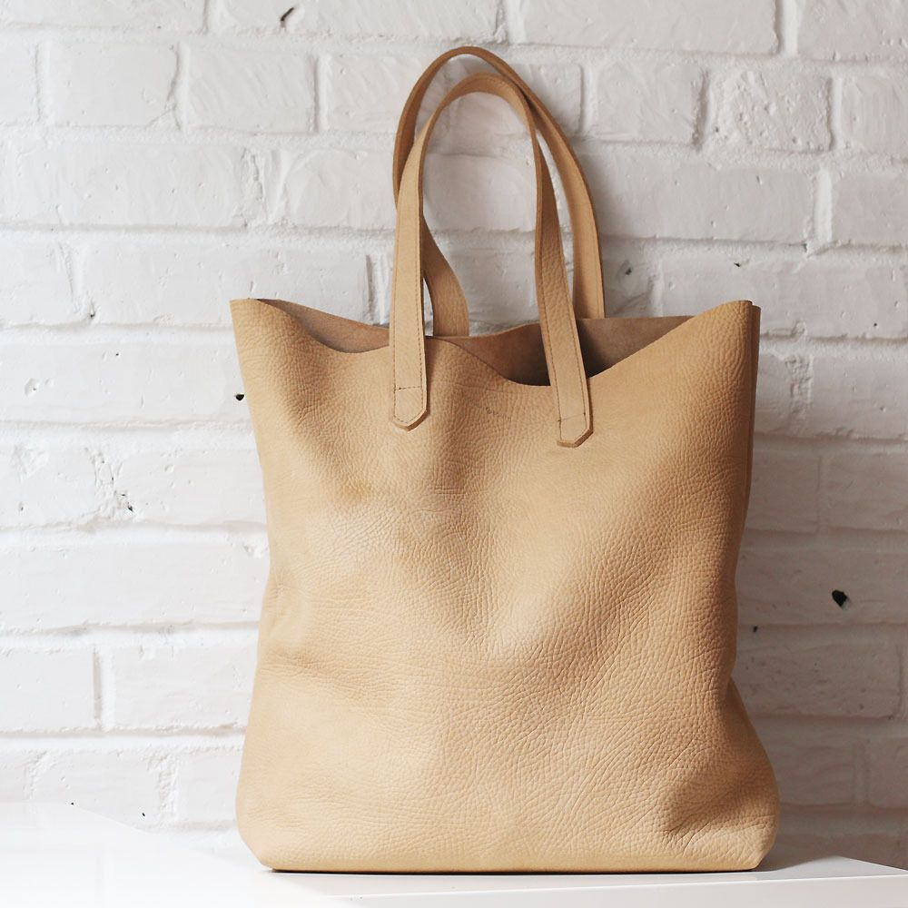 Montauk Camel Tan Nubuck Leather Tote Shannon South Made In Usa