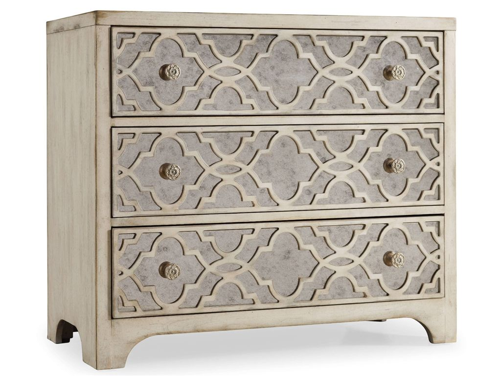 Hooker Furniture Living Room Sanctuary Fretwork Chest-Pearl ...