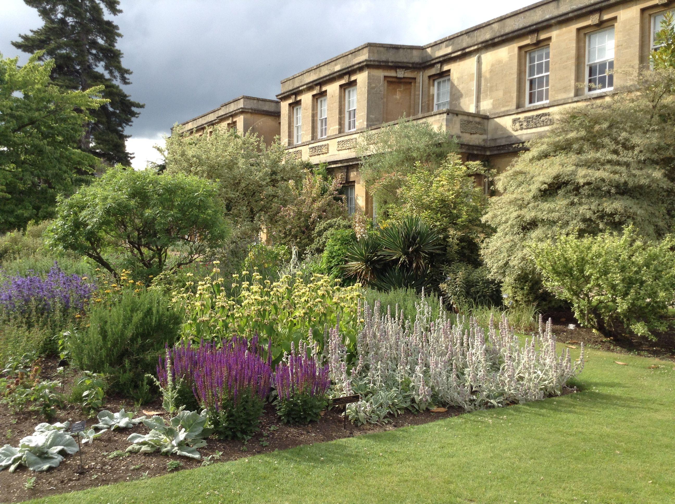 Jardín Botánico de la Universidad de Oxford, el más antiguo del Reino Unido.
