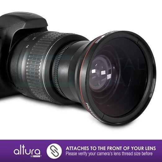 Amazoncom 58mm 043x Altura Photo Professional Hd Wide Angle Lens